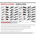ISO9001 / Ts16949 genehmigt Wiper Universal Flat Wischerblatt