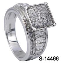 Nuevos diseños de la joyería de la manera de la plata esterlina 925 señora anillo (S-14466)