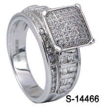New Designs 925 Sterling Silver Fashion Jewelry Lady Ring (S-14466)