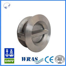 Golden Supplier whole sale api594 dual plate wafer check valve