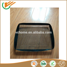 2015 New customer crisp mesh for frozen food pizza crisping mesh teflon cooking mesh
