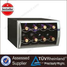 Decoração termoelétrica comercial de serviço pesado Refrigerador de vinho elétrico