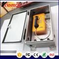 Caixa de telefone à prova d'água Knb5 Kntech Enclosure Emergency Call Box
