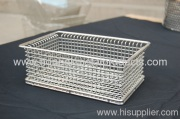 Wire Basket Made Of Stainless Steel(factory)