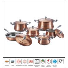 12PCS Steel Cookware Set