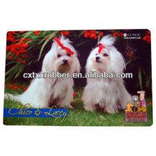 Tapetes personalizados para alimentação de cães, tapetes personalizados para alimentação de cães