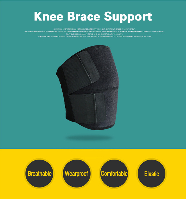 Free and elastic kneepad