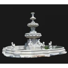 20 Years manufacturer for Grey Marble Stone Carving Garden Fountain supply to Fiji Supplier