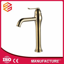 позолоченные ванной кран античный стиль faucet тазика мытья