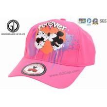 Bonés de chapéu de camionista de bebê para crianças com impressão de seda de desenhos animados e óculos de sol