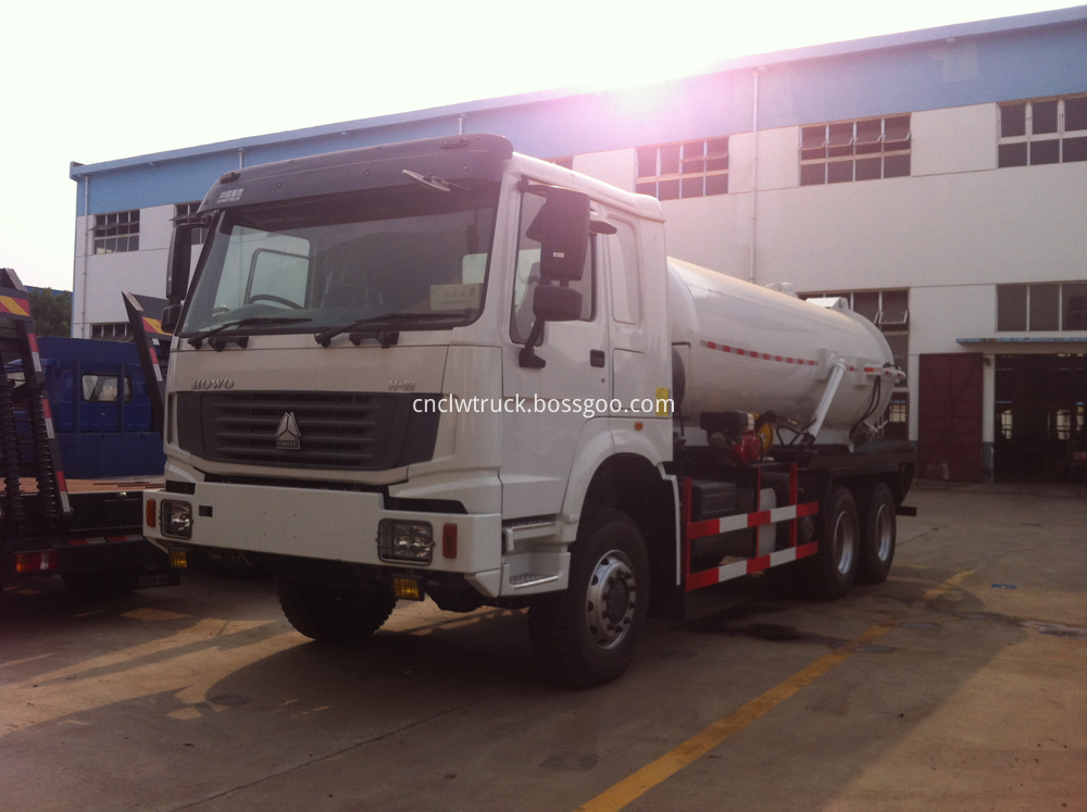sewage pump truck 1