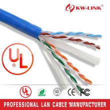 Netzwerk-Verkabelung Gigabit Ethernet Cat6 utp Kabel 23awg 0.57mm nackten Kupfer Netzwerkadapter CE ROHS ISO Netzwerkkabel
