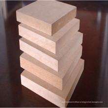 E1 18мм необработанная МДФ / меламиновая доска для мебельных материалов! Горячая распродажа