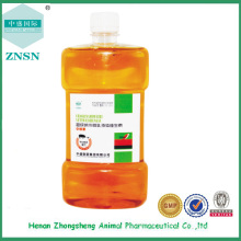 Super nanometer microemulsion liquid vitamin for animal poultry type