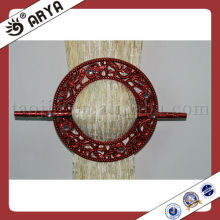 Redondo Resina Curtain Hook.Buckle, Cortina Clip para Cortina Decoração e Cortina