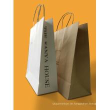 Bestes Qualitäts-Berufsgewohnheits-Kraftpapier-Einkaufstasche-Drucken