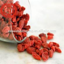 Berry goji china certificada orgánico seco ningxia goji baya distribuidor mayorista con precio bajo