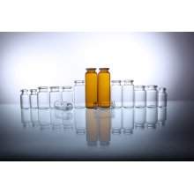 10ml Clear Flip off Cap Glass Vials