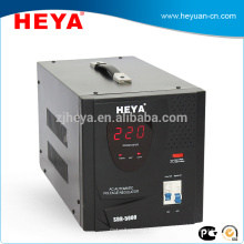 Single phase desk type best relays automatic voltage regulators(avr) with cooling fan