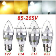 Ce e Rhos E14 3W LED Bulb Candle