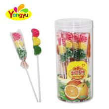 Halal Sweets Orange string lollipop