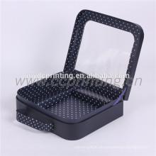 Kundenspezifischer Druckpappenkoffer Cardbaord-Kasten mit Griff