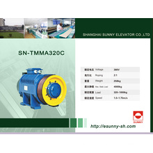 Máquina Gearless da tração para o elevador (SN-TMMA320C)
