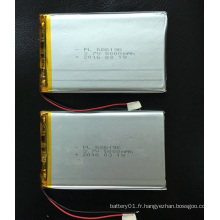Fabricant chinois 686196 5000mAh 3.7V batterie rechargeable Li-Polymer