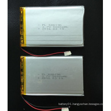 Chinese Manufacturer 686196 5000mAh 3.7V Rechargeable Li-Polymer Battery