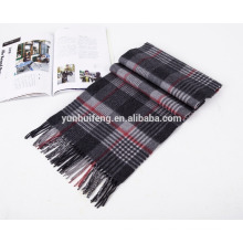 bufanda de lana merino de moda de alta calidad