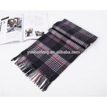 cachecol de lã merino elegante de alta qualidade