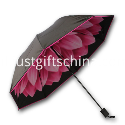 Personalized Dual Quality Folding Umbrella - 95