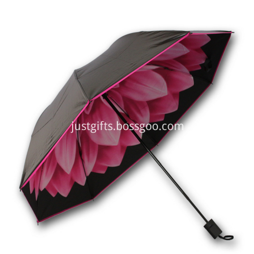 Personalized Dual Quality Folding Umbrella - 95