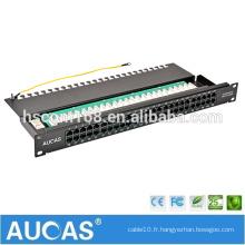 Vente à chaud prix de l'usine en Chine carte à circuit imprimé à 50 ports panneau de connexion vocale / cat3 panneau de connexion téléphonique RJ11