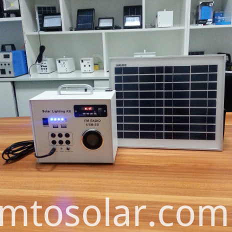 Mini Solar FM Radio Kit