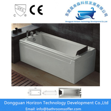 LUCITE acrylic massage tub spa bathtub