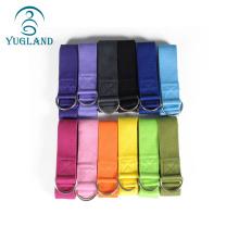 Yoga Mat Mat Personalised Ecofriendly Fitness oem custom colorful hammock cotton yoga pull strap
