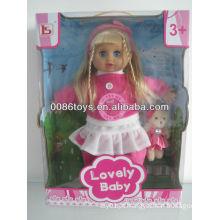 Espanhol IC menina orient boneca