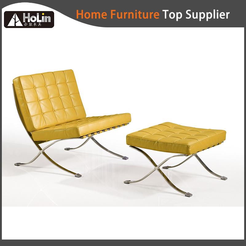 Leather Lounge Classic Designer Replica Barcelona Sofa Chair