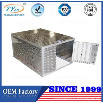 Hersteller-hohe Qualität Soem-einzelne Aluminiumhundekasten