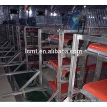 équipement de volaille de haute qualité de prix usine pour le fumier de poulet enlever