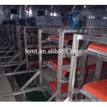 Equipamentos de alta qualidade preço de fábrica de aves de capoeira para remoção de estrume de frango