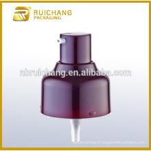 Pompe à haute pression en plastique uv / pompe à crème 22mm / distributeur de pompe UV