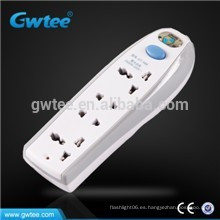 Hecho en China interruptor eléctrico y enchufe eléctrico de la salida elegante de 4 maneras