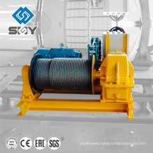 30t 10tons heavy duty electric winch for pulling larger capacity ships from the ramp