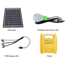 10W солнечный комплект освещения
