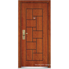 Steel Wooden Armored Door (YF-G9008)