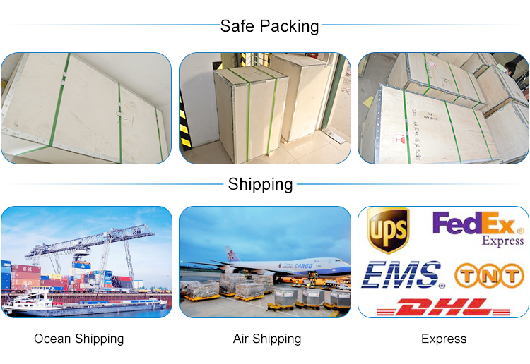 Packaging -Export wooden or carton packing -Both neutral and customized packaging can be available Shipping -We can ship the goods to you per the below shipping methods and you can choose the appropriate one based on your timeline and budget. Also you can definitely choose to use your own shipping agent.