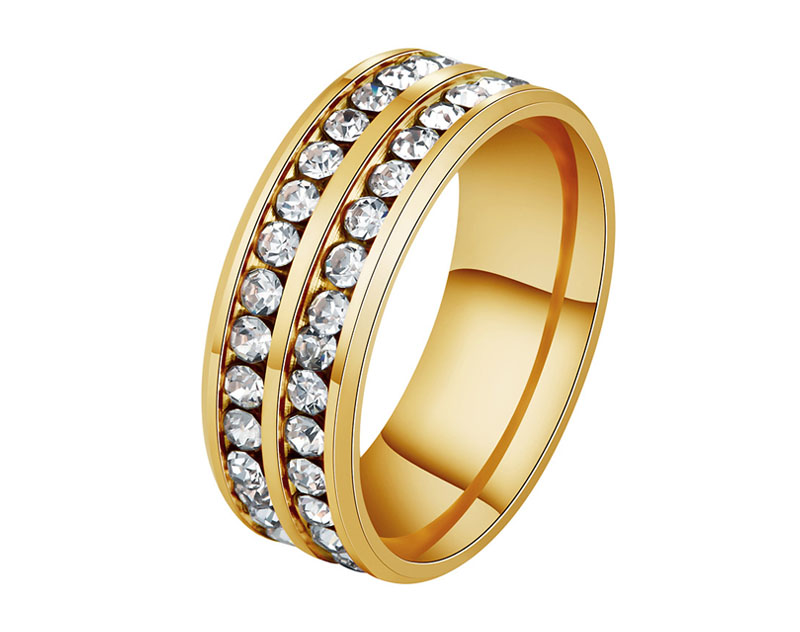 cubic zirconia rings 14k gold