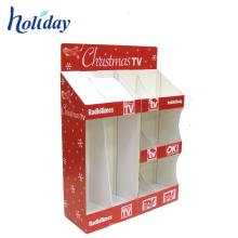 Chine Présentoirs promotionnels adaptés aux besoins du client de palette de cadeau de Noël de Noël